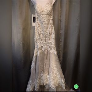 This is an Allure Couture wedding dress.